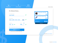 Daily UI Challenge #002 - Checkout Page
