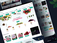 Flowers Landing Page