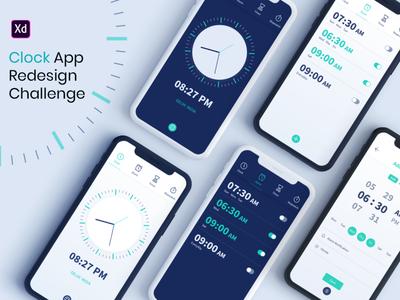 Clock App Redesign Challenge