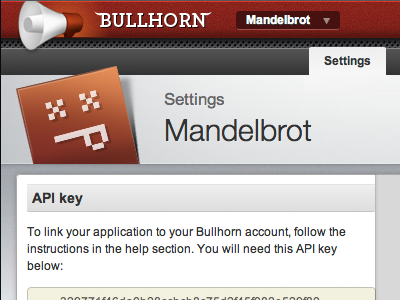 Bullhorn Settings