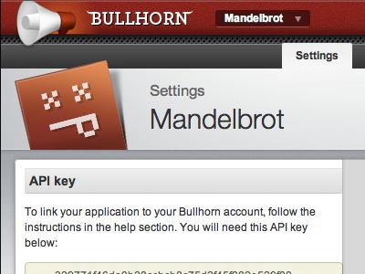 Bullhorn Settings red