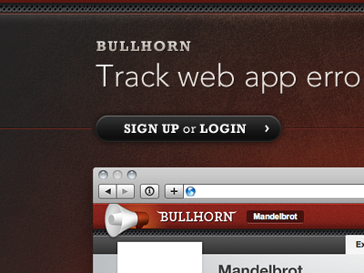 Bullhorn homepage