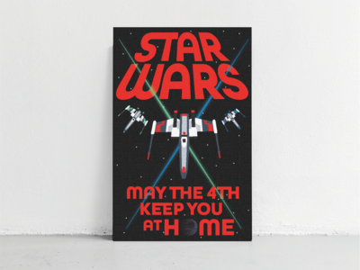 Star Wars Day poster