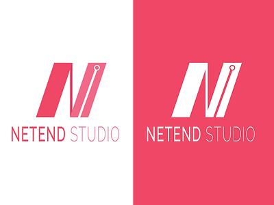 Netend Studio minimalist minimal flat icon identity lettering illustrator vector illustration branding design logo