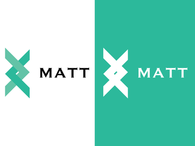 MATT vector logo minimal lettering illustrator identity flat icon design branding
