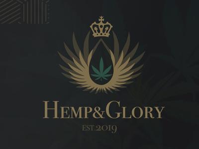 Hemp & Glory Logo Design