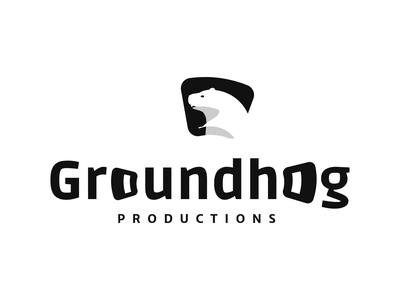 Minimal Groundhog concept development logo design graphic design ui illustration design minimal logo