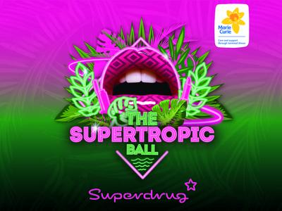 Superdrug Charity Event Branding