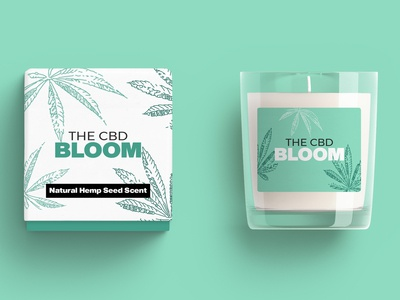 CBD Scented Candle