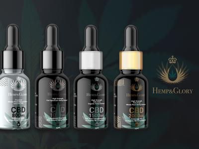 CBD Oil Tincture Design & Branding