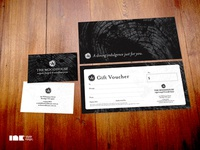 The Woodhouse Business Card & Gift Voucher