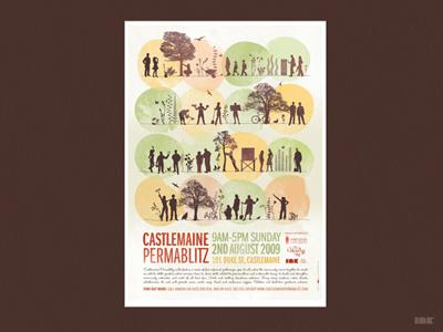 Castlemaine Permablitz Poster castlemaine permablitz poster