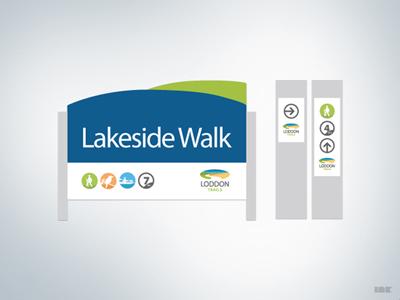 Loddon Trails Signage Concept loddon shire trails icons signage