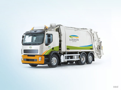 Loddon Shire Vehicle Graphics loddon shire refuse garbage truck vehicle graphics