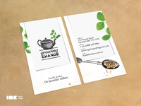 Growing Change Business Card