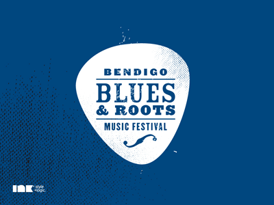 Bendigo Blues & Roots Music Festival Logo logo