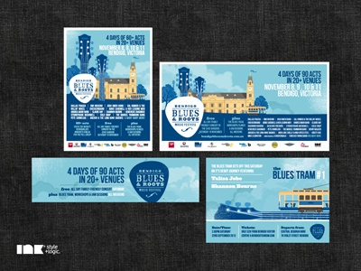 Bendigo Blues & Roots Music Festival 2012 Press Examples 2012 press advertisements