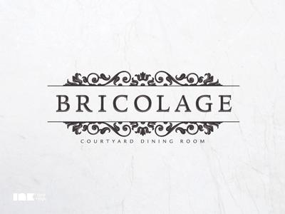 Bricolage Logo bricolage restaurant logo