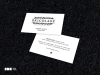 Bricolage Business Cards