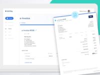 Beesy E-Invoice creation + PDF preview