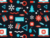 MRZ Christmas Pattern