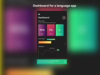 Dashboard For Language App