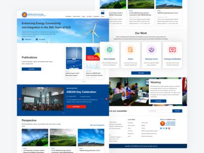 ASEAN Centre for Energy - Website Revamp