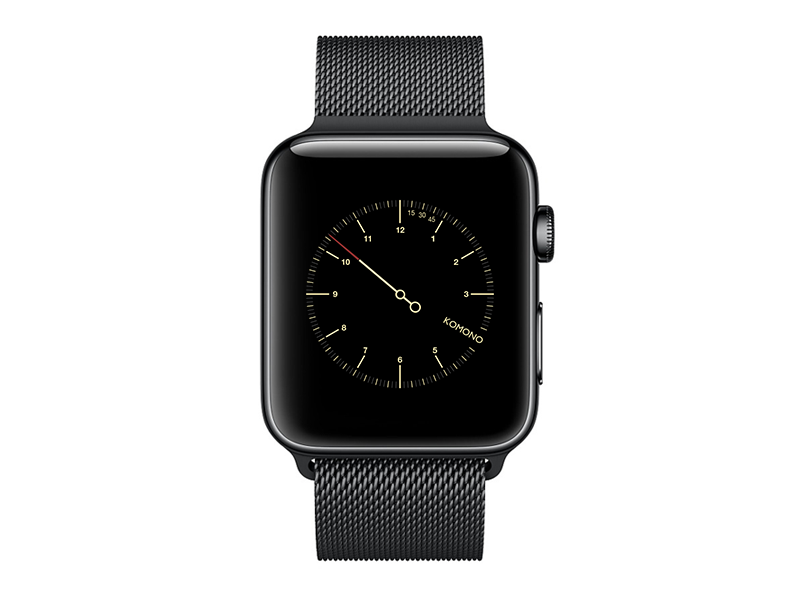 Komono - Watch face ux ui design cigarro apple watch