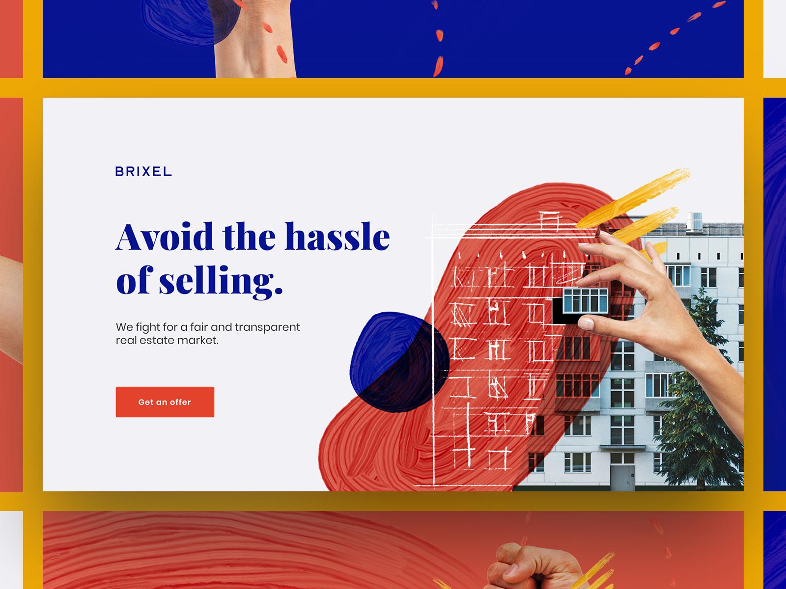 Brixel - Rebranding concept