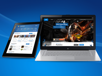 New PlayStation sites
