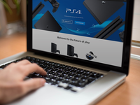 PS4 Pro Website