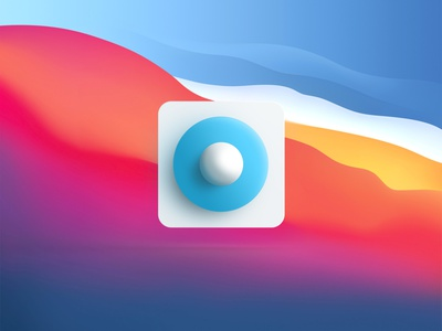 Flatstudio Icon for Mac OS Big Sur rebound big sur macos logo interaction design animation
