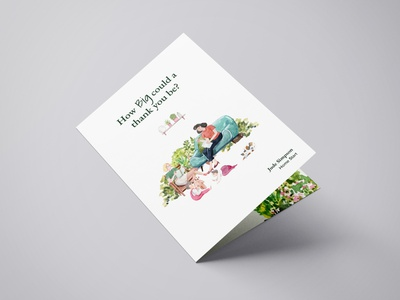 Poetry booklet with watercolour illustrations charity artwork nature typography leaflet book art watercolour booklet