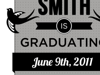 Graduation Announcement graduation announcement print
