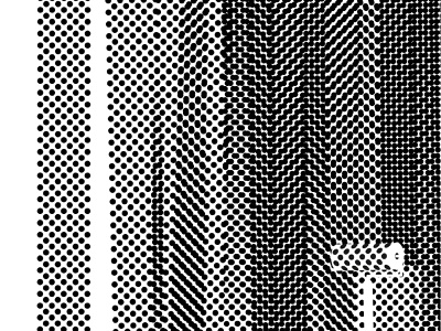Dot Pattern Roller paint roller monochrome dot pattern graphic design