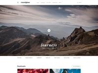Roundglass Magazine magazine concept ui design