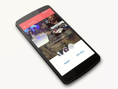 Checkin With Friends restaurant feedback new update wip app checkin