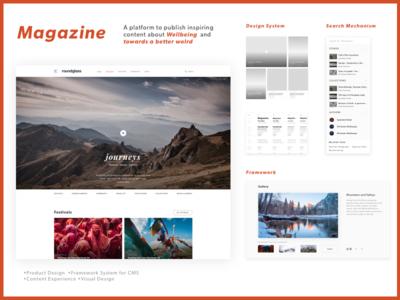 Magazine-Closed Content Platform