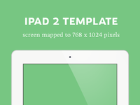 iPad 2 Detailed Template