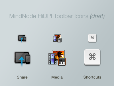 Color HiDPI Icons, draft icon hidpi os x
