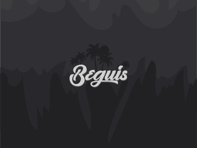 Beguis branding lettering illustrator minimal flat typography type vector logo illustration design