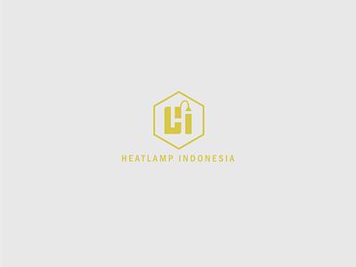 Heatlamp Logo art graphic design identity brand branding minimal lettering illustrator typography type illustration design vector logo