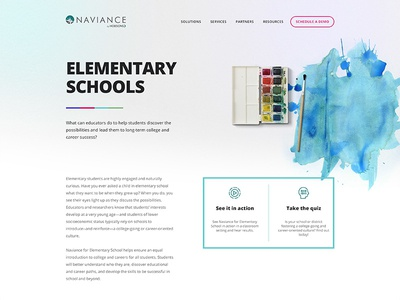 Naviance redesign website elementary schools solutions learning