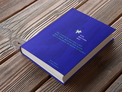 Book cover print mockup cover book