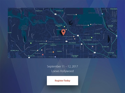 Something is coming hollywood website register map conference wip