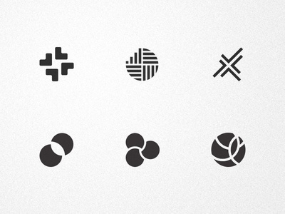 Logo explorations collection mark icon branding identity logo