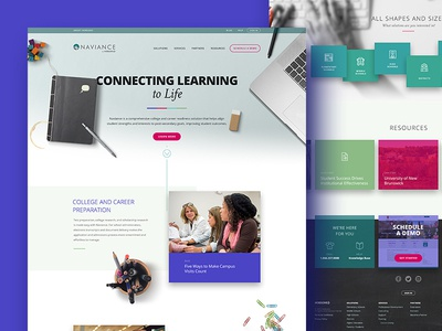 Naviance website solution college school student learning education