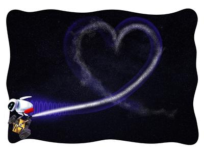 Wall-e valentine.