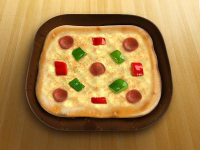 Pizza pizza food illustration pepper sausage icon