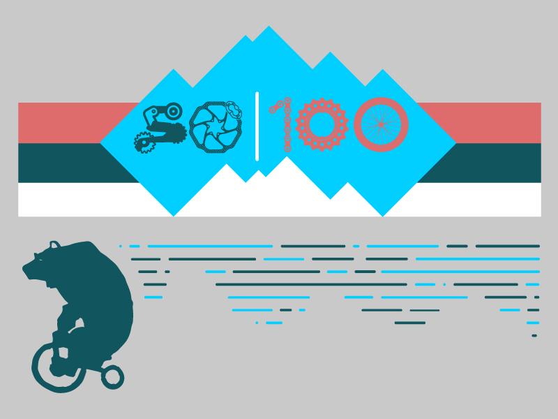 Bike Race - Critique is apprciated! download illustrator free design freebie mountains event pedal mountain bike teton race bike